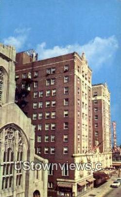 Hotel Gary - Indiana IN Postcard