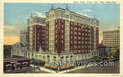 Gary Hotel - Indiana IN Postcard