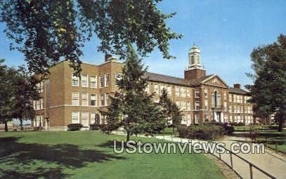 Gary Roosevelt High School - Indiana IN Postcard