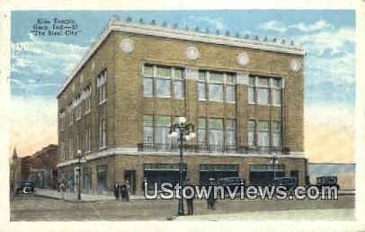 Elks Temple - Gary, Indiana IN Postcard