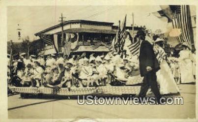 1910 Parade - Carmel, Indiana IN Postcard