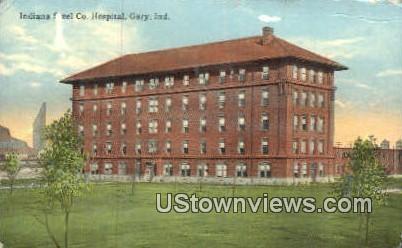 Indiana Steel Co Hospital - Gary Postcard