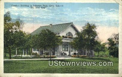 Comfort Bldg, Jefferson Park - Gary, Indiana IN Postcard