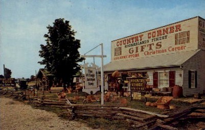 Country Corner Gift Shop - Syracuse, Indiana IN Postcard