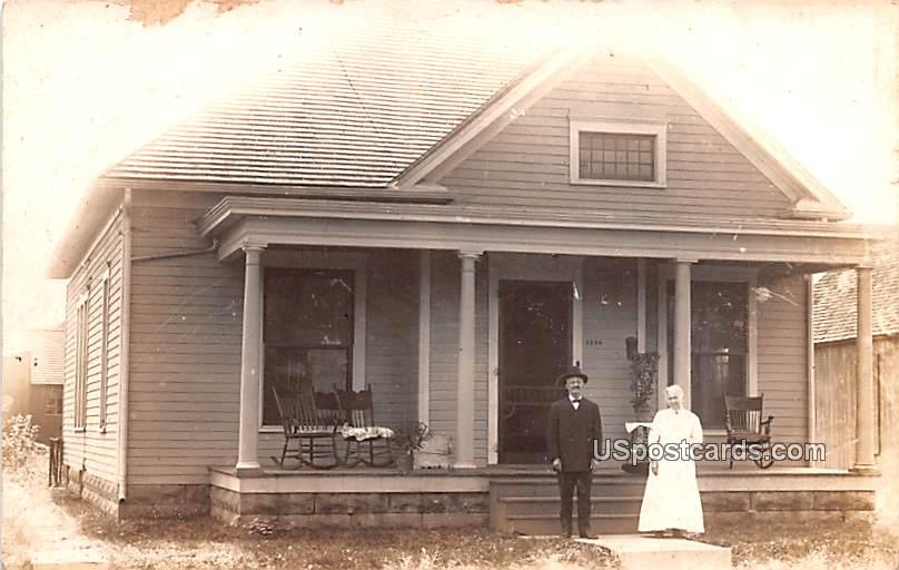 Residence - Terre Haute, Indiana IN Postcard