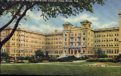 St, Mary of the Woods College - Terre Haute, Indiana IN Postcard