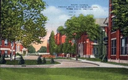 Indiana State Teachers' College - Terre Haute Postcard