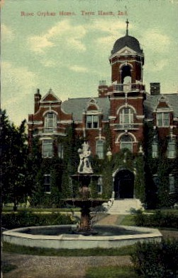 Rose Orphan Home - Terre Haute, Indiana IN Postcard