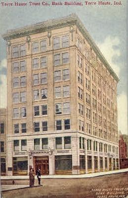 Terre Haute Trust Co. - Indiana IN Postcard