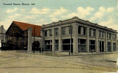 Muncie, Indiana, IN Postcard