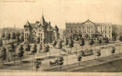 Marion Normal College - Indiana IN Postcard