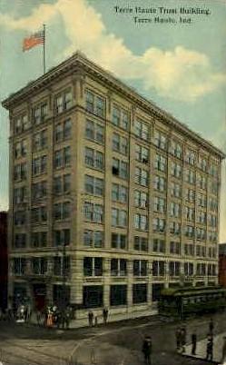 Terre Haute Trust Building  - Indiana IN Postcard