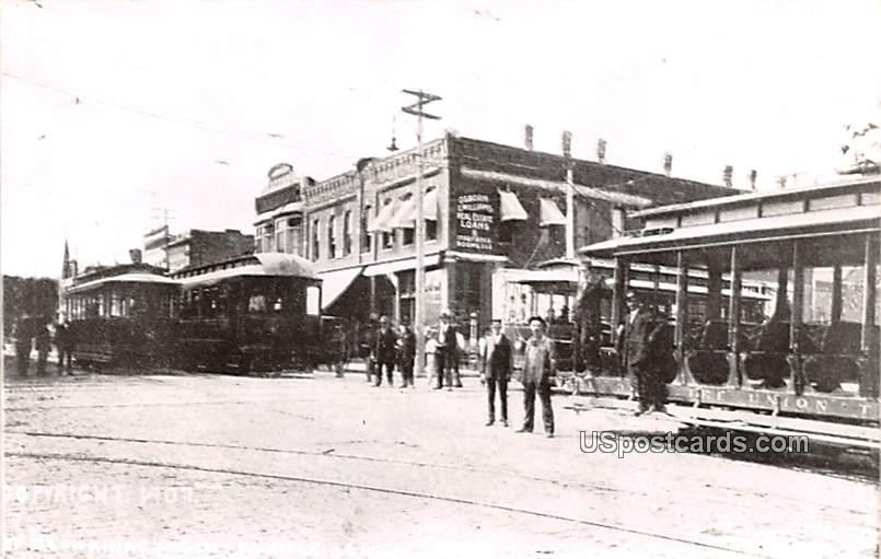 Street Scene - Coffeyville, Kansas KS Postcard