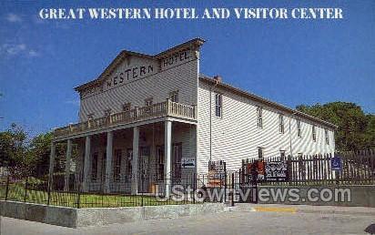 Great Western Hotel - Dodge City, Kansas KS Postcard