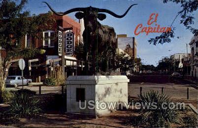 El Capitan - Dodge City, Kansas KS Postcard