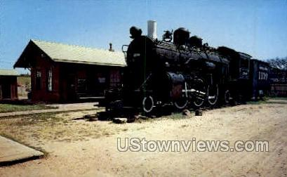 Boot Hill Special & Depot - Dodge City, Kansas KS Postcard