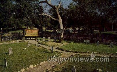 Boot Hill Cemetery - Dodge City, Kansas KS Postcard