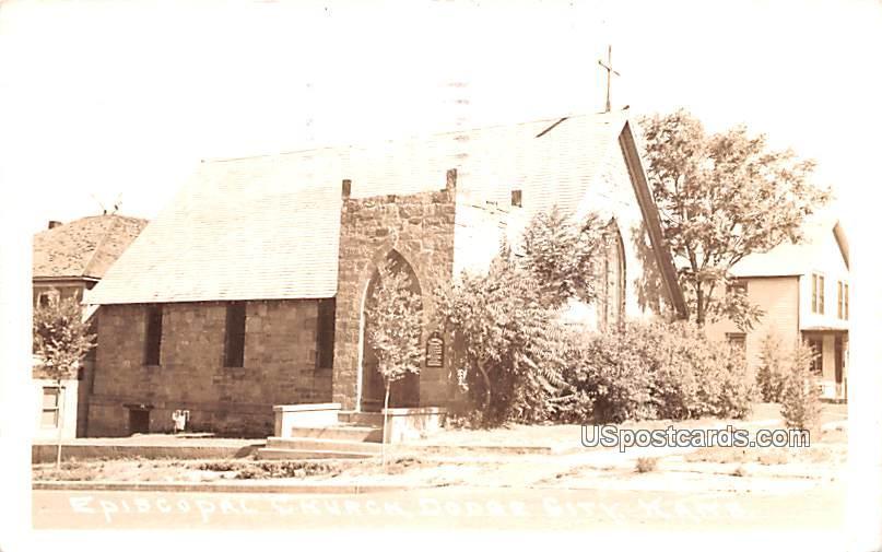 Episcopal Church - Dodge City, Kansas KS Postcard
