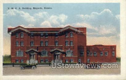 Y.M.C.A. Building - Emporia, Kansas KS Postcard