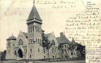 Presbyterian Church - Emporia, Kansas KS Postcard