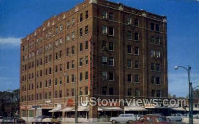 Broadview Hotel - Emporia, Kansas KS Postcard
