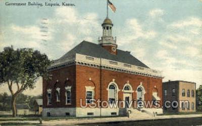 Government Building - Emporia, Kansas KS Postcard