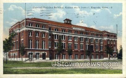 Kansas State Normal - Emporia Postcard