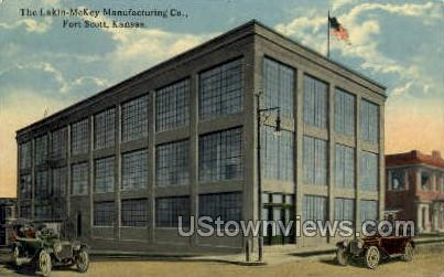 Lakin-McKey Manufacturing Co - Fort Scott, Kansas KS Postcard