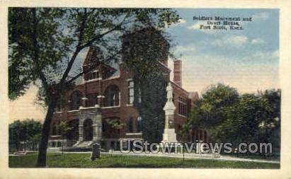 Court House - Fort Scott, Kansas KS Postcard