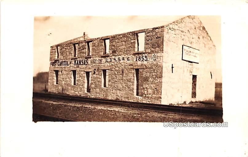 First Capitol - Fort Riley, Kansas KS Postcard