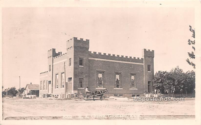 ME Church - Goodland, Kansas KS Postcard