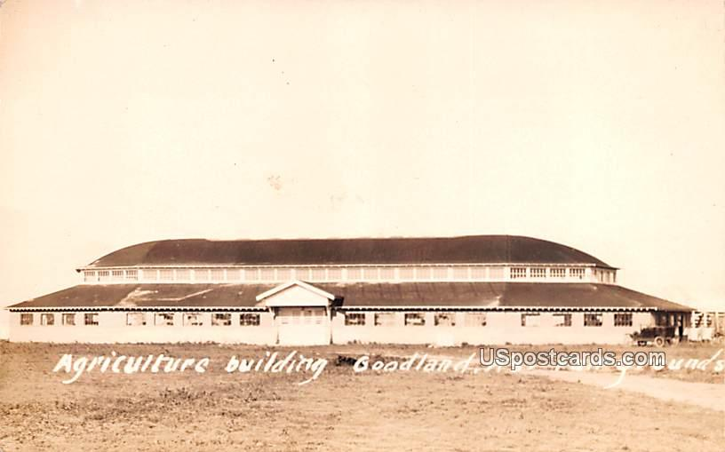 Agriculture Building - Goodland, Kansas KS Postcard