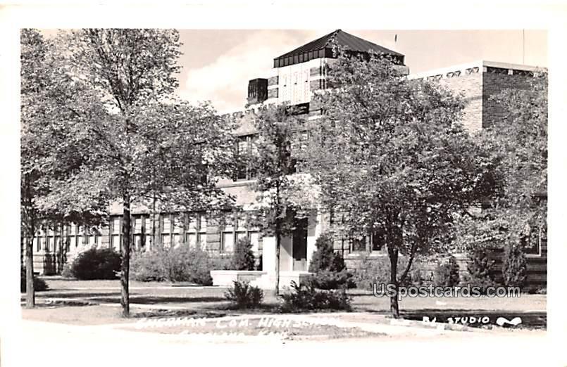 Sherman Com High School - Goodland, Kansas KS Postcard