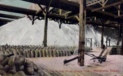 Salt Packing Room, Morton Plant - Hutchinson, Kansas KS Postcard