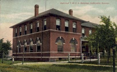 Railroad Y.M.C.A. Bldg. - Coffeyville, Kansas KS Postcard
