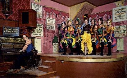 Long Branch Saloon, Boot Hill - Dodge City, Kansas KS Postcard