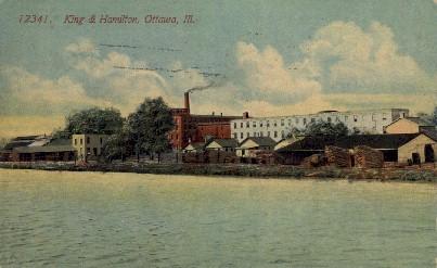 King & Hamilton - Ottawa, Kansas KS Postcard