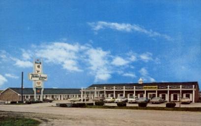 Travelodge - Emporia, Kansas KS Postcard