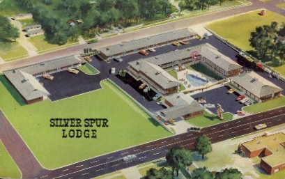 Silver Spur Lodge - Dodge City, Kansas KS Postcard