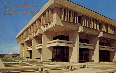 Public Library - Wichita, Kansas KS Postcard