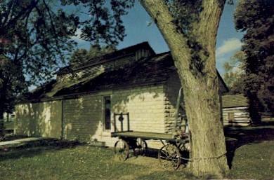 Historical Museum, City Park - Wamego, Kansas KS Postcard