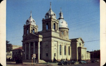 Saint Marys Cathedral - Wichita, Kansas KS Postcard