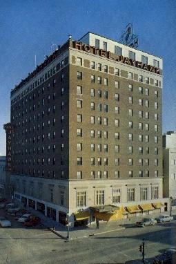 Hotel Jayhawk - Topeka, Kansas KS Postcard