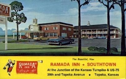 Ramada Inn  - Topeka, Kansas KS Postcard