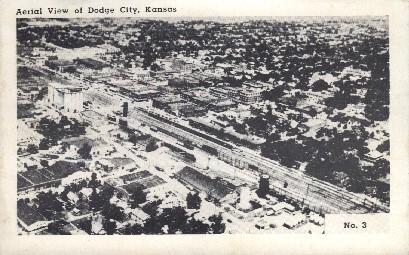 Dodge City, Kansas, KS Postcard