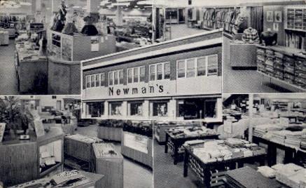 Newmans  - Emporia, Kansas KS Postcard