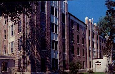St. Marys Hospital - Emporia, Kansas KS Postcard