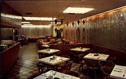 Forrens Restaurant - Emporia, Kansas KS Postcard