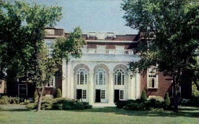 Music Hall, Kansas State Teachers College - Emporia Postcard