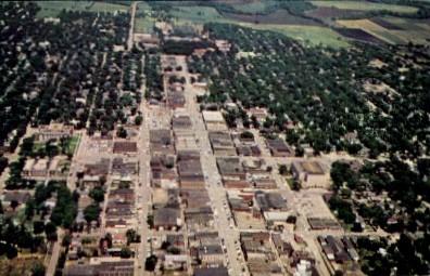 Downtown - Emporia, Kansas KS Postcard